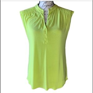 3/$30 Cable & Gauge soft cap sleeve top